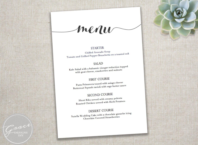 001 Dinner Party Menu Template Templates Filename Infoe Link - Free Printable Dinner Party Menu Template