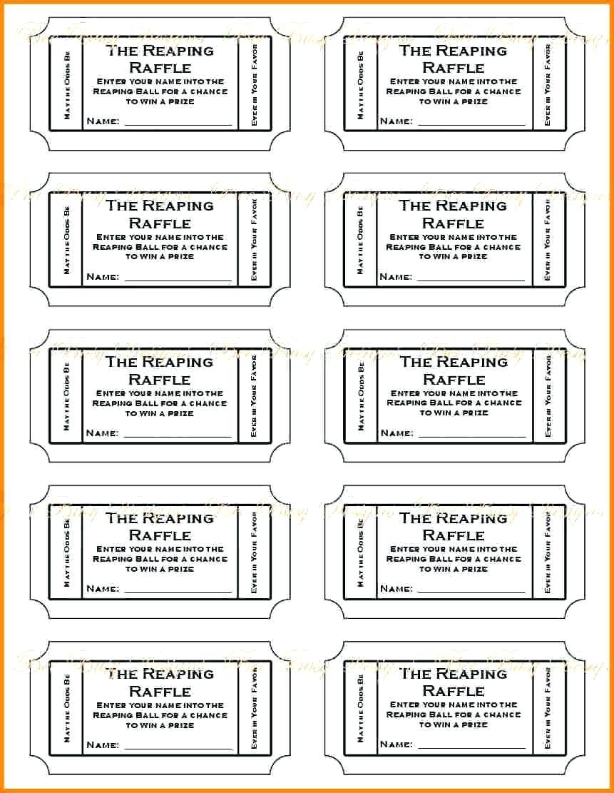 001 Free Printable Drawing Tickets Print Template ~ Ulyssesroom - Free Printable Tickets