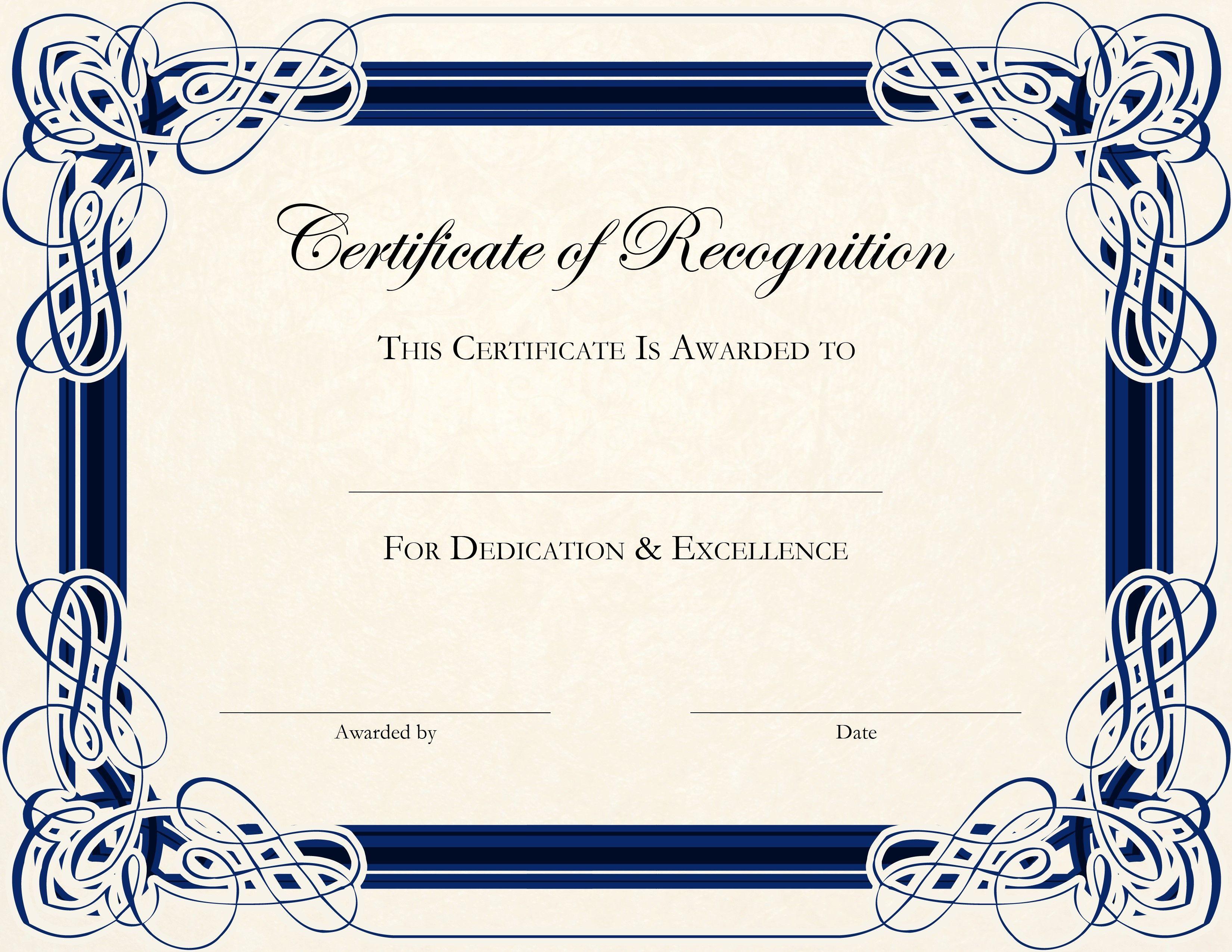 001 Template Ideas Free Printable ~ Ulyssesroom - Free Printable Children's Certificates Templates