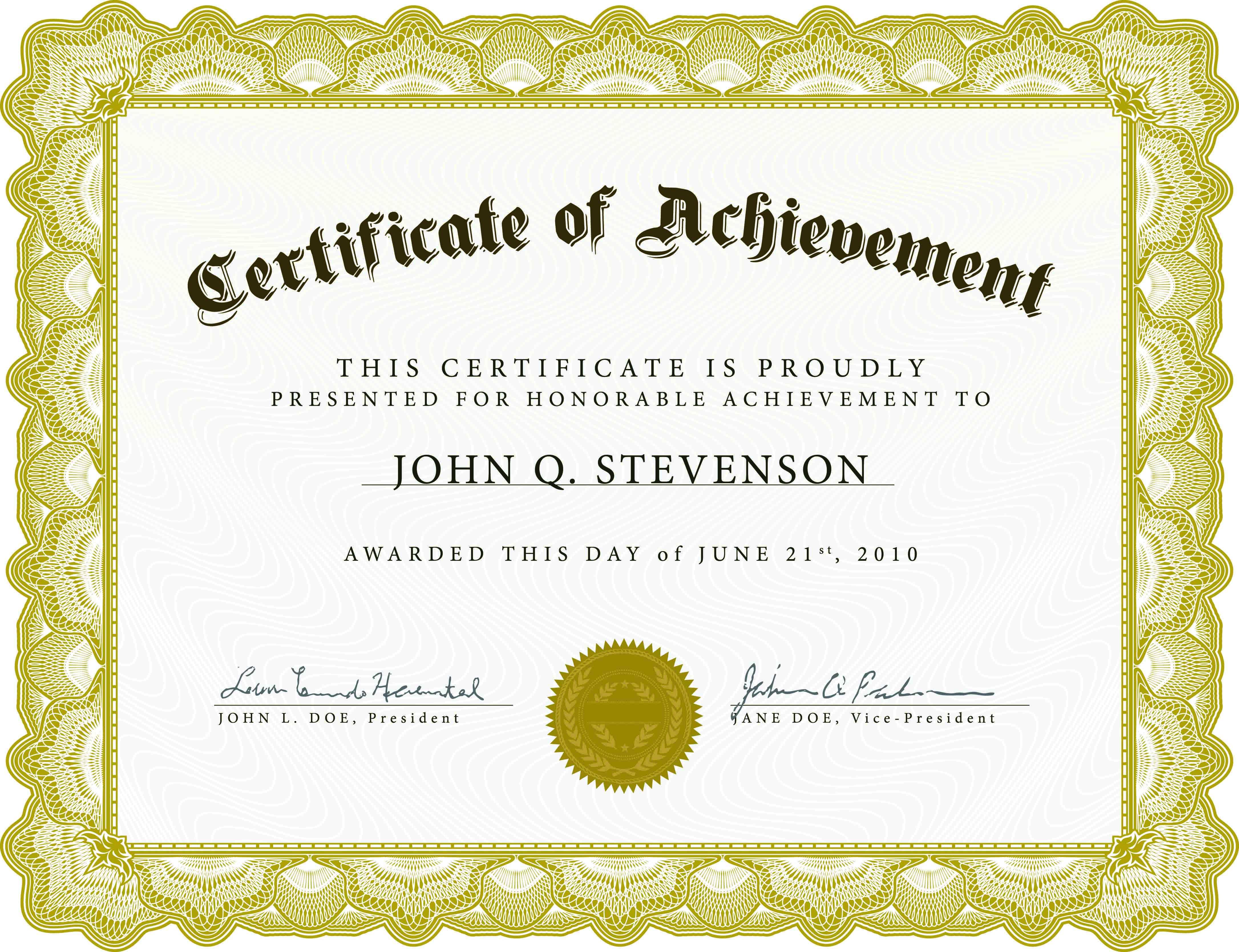 004 Template Ideas Free Printable ~ Ulyssesroom - Free Printable Children's Certificates Templates