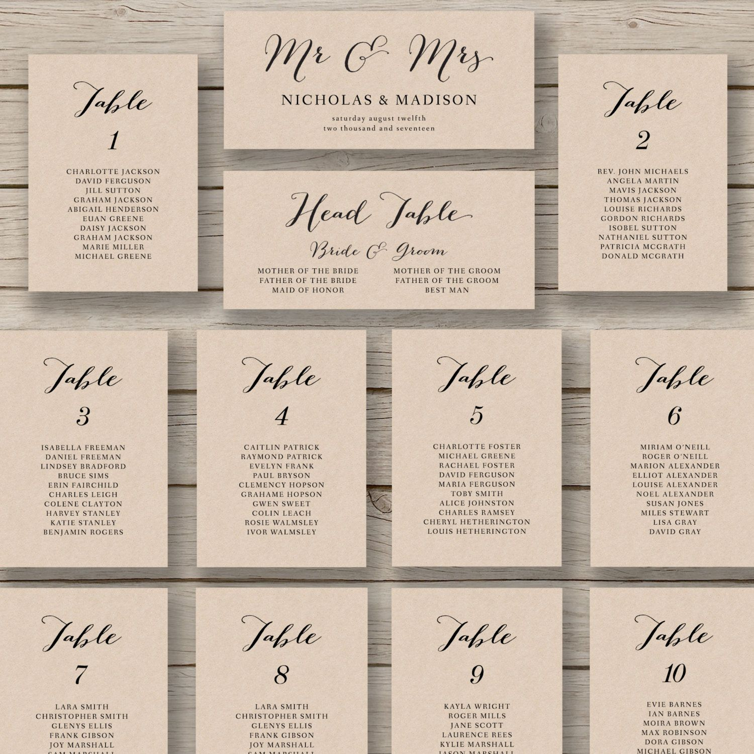 004 Wedding Seating Chart Templates Template ~ Ulyssesroom - Free Printable Wedding Seating Chart Template