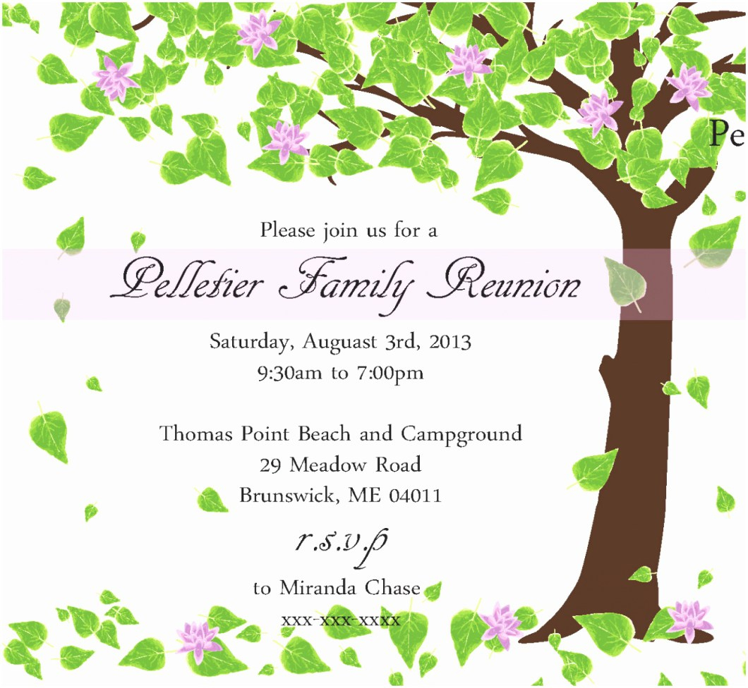 005 Free Printable Family Reunion Invitation Templates Invsite Co - Free Printable Family Reunion Invitations