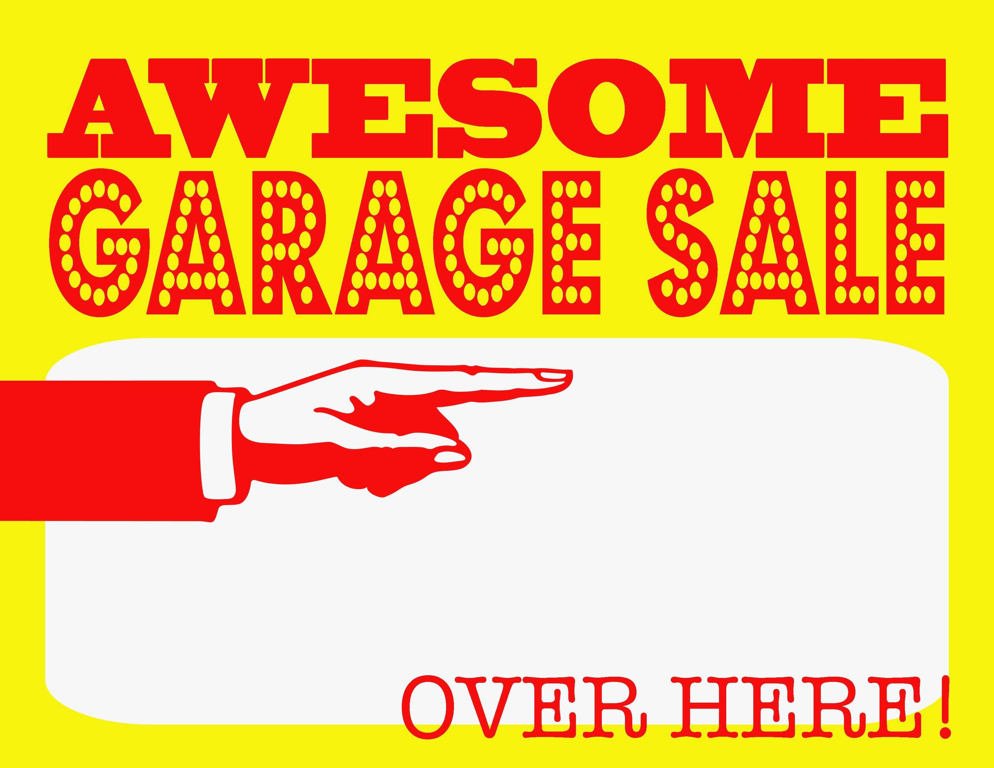 005 Yard Sale Signs Templates Inspirational Free Printable Kinoweb - Free Printable Yard Sale Signs