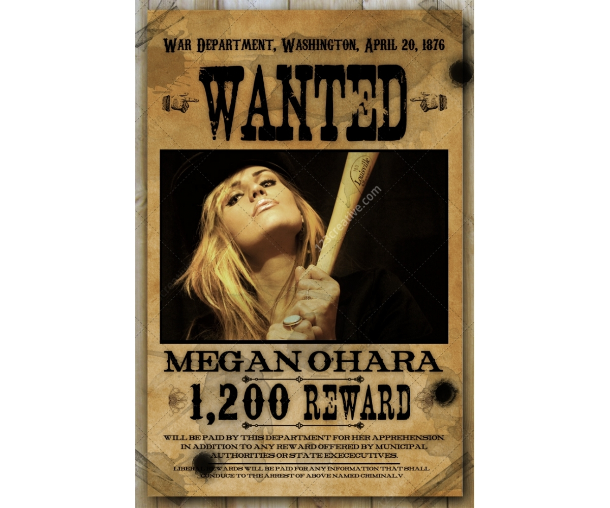 006 Old Wild West Woman Wanted Poster Template Psd Ideas Free - Free Printable Wanted Poster Old West