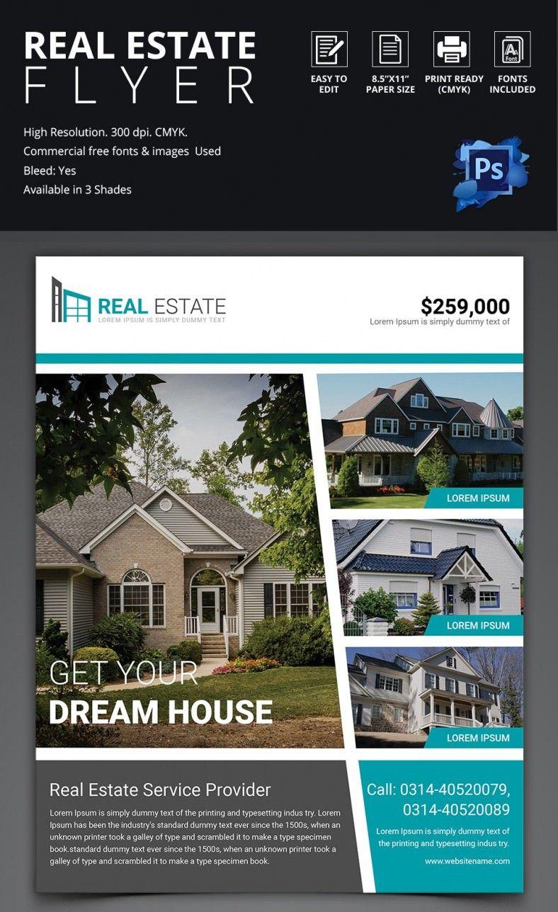 006 Real Estate Flyers Templates Free Template Ideas ~ Ulyssesroom - Free Printable Real Estate Flyer Templates