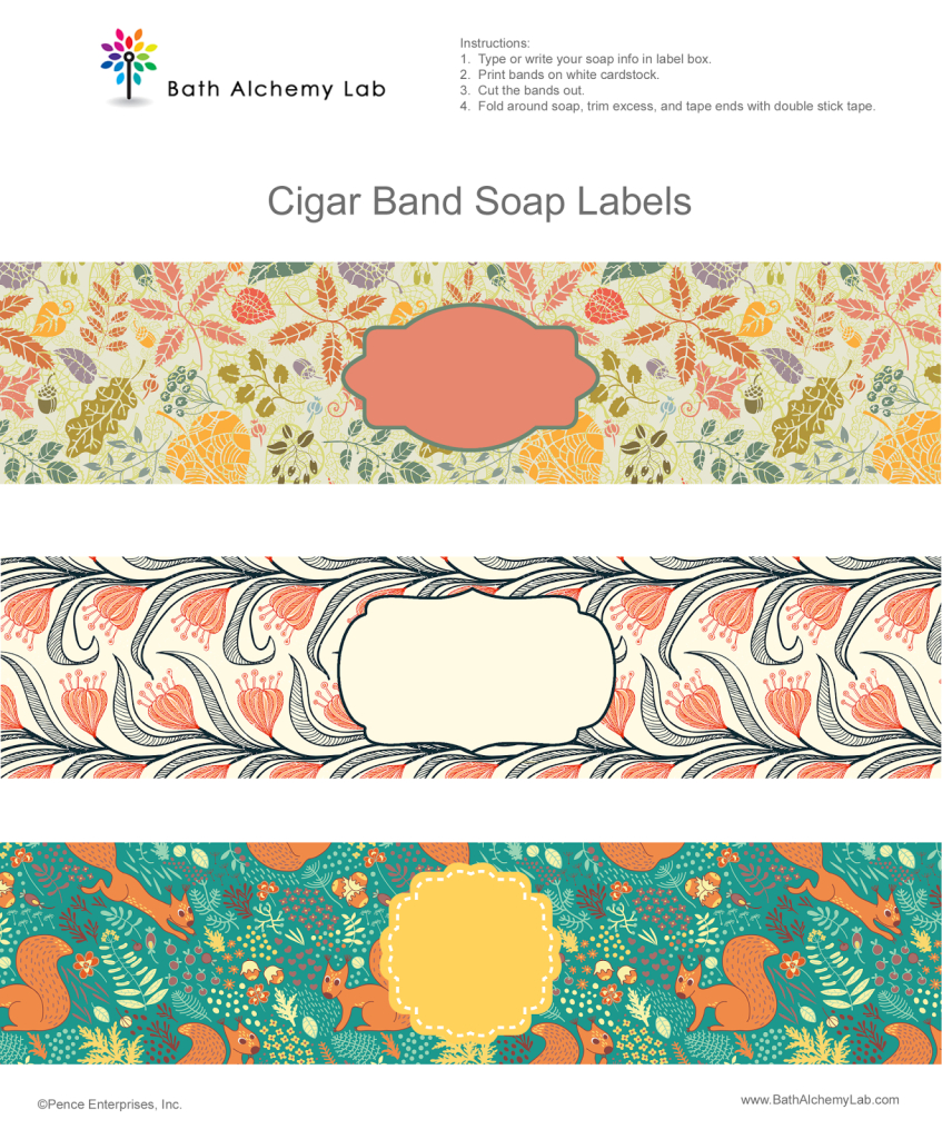 006 Template Ideas Free Printable Soap Label Templates Fall Labels - Free Printable Cigar Label Template