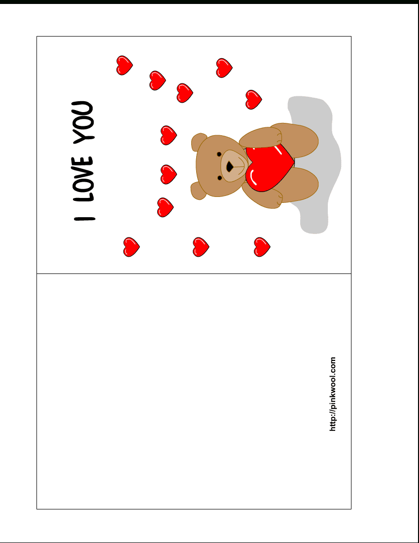007 Template Ideas Free Printable Cards Templates C1Aff Valentines - Free Printable Picture Cards