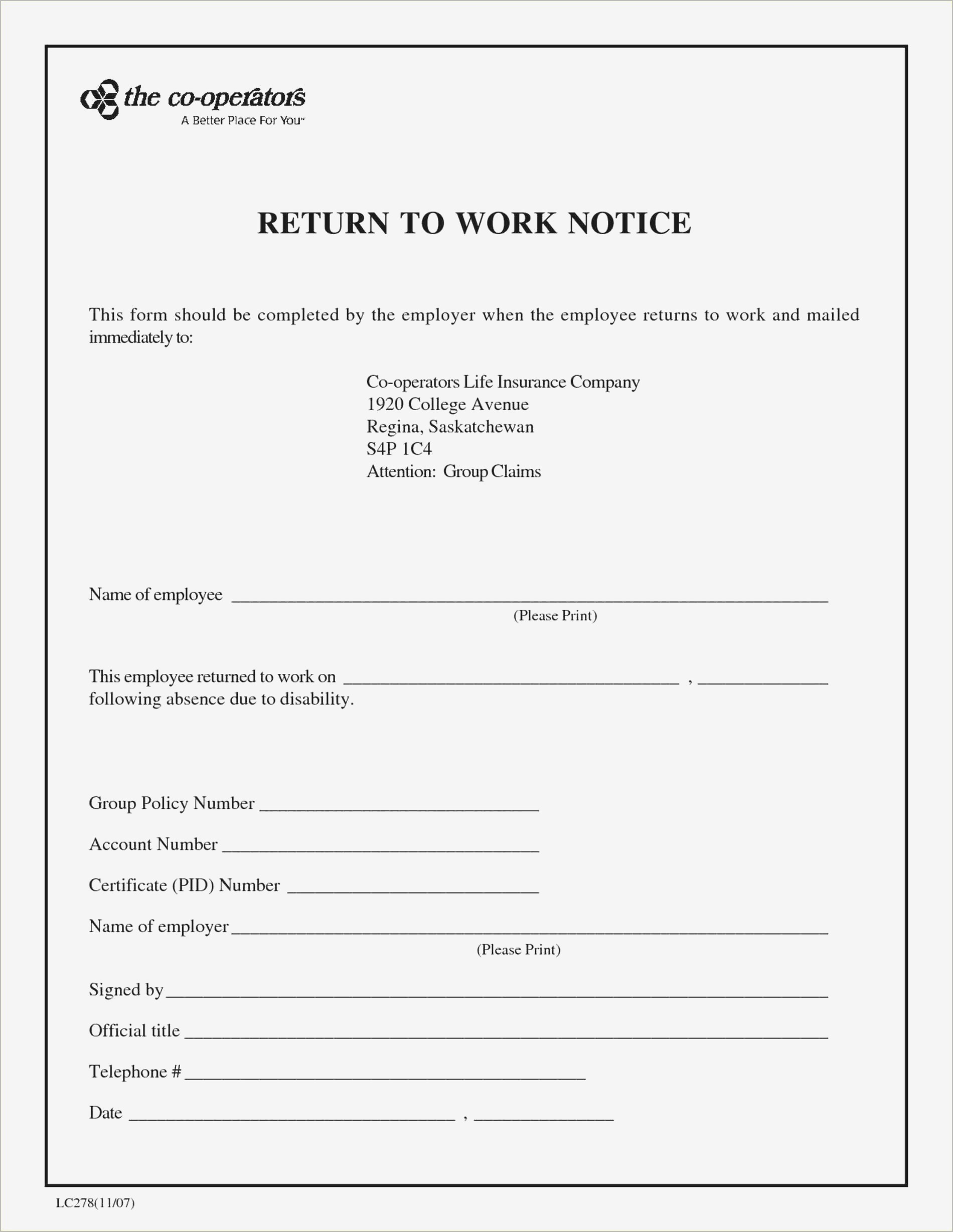 007 Template Ideas Return To Work Doctors Note Letter From Doctor - Doctor Notes For Free Printable