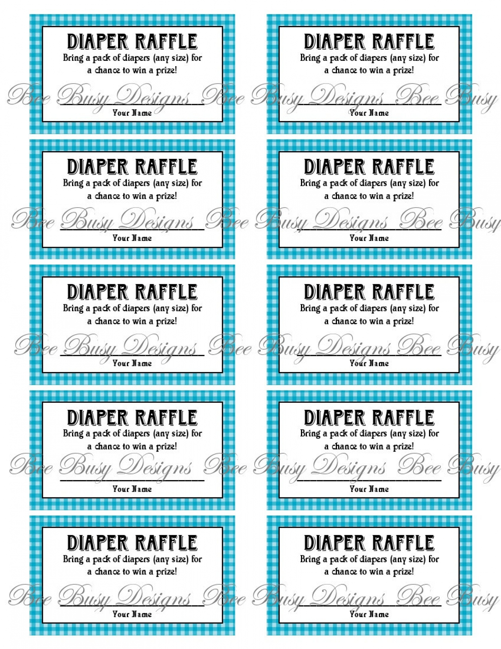 008 Diaper Raffle Tickets Template Ideas ~ Ulyssesroom - Free Printable Diaper Raffle Tickets