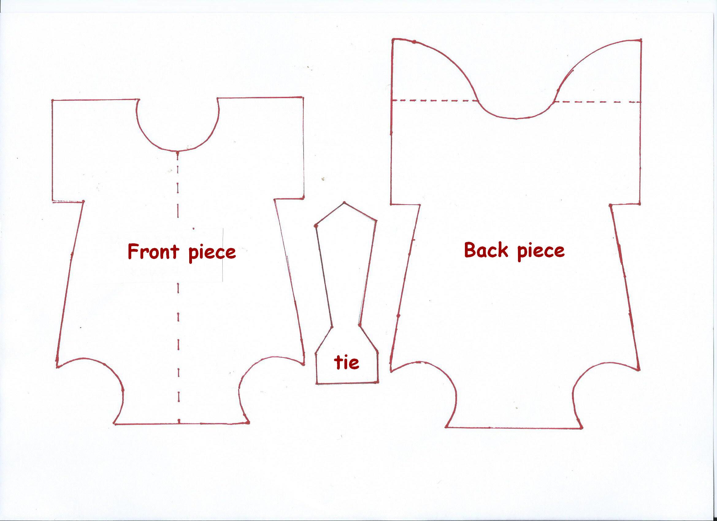 008 Free Printable Baby Onesie Template Pattern 476908 ~ Ulyssesroom - Free Printable Onesie Pattern