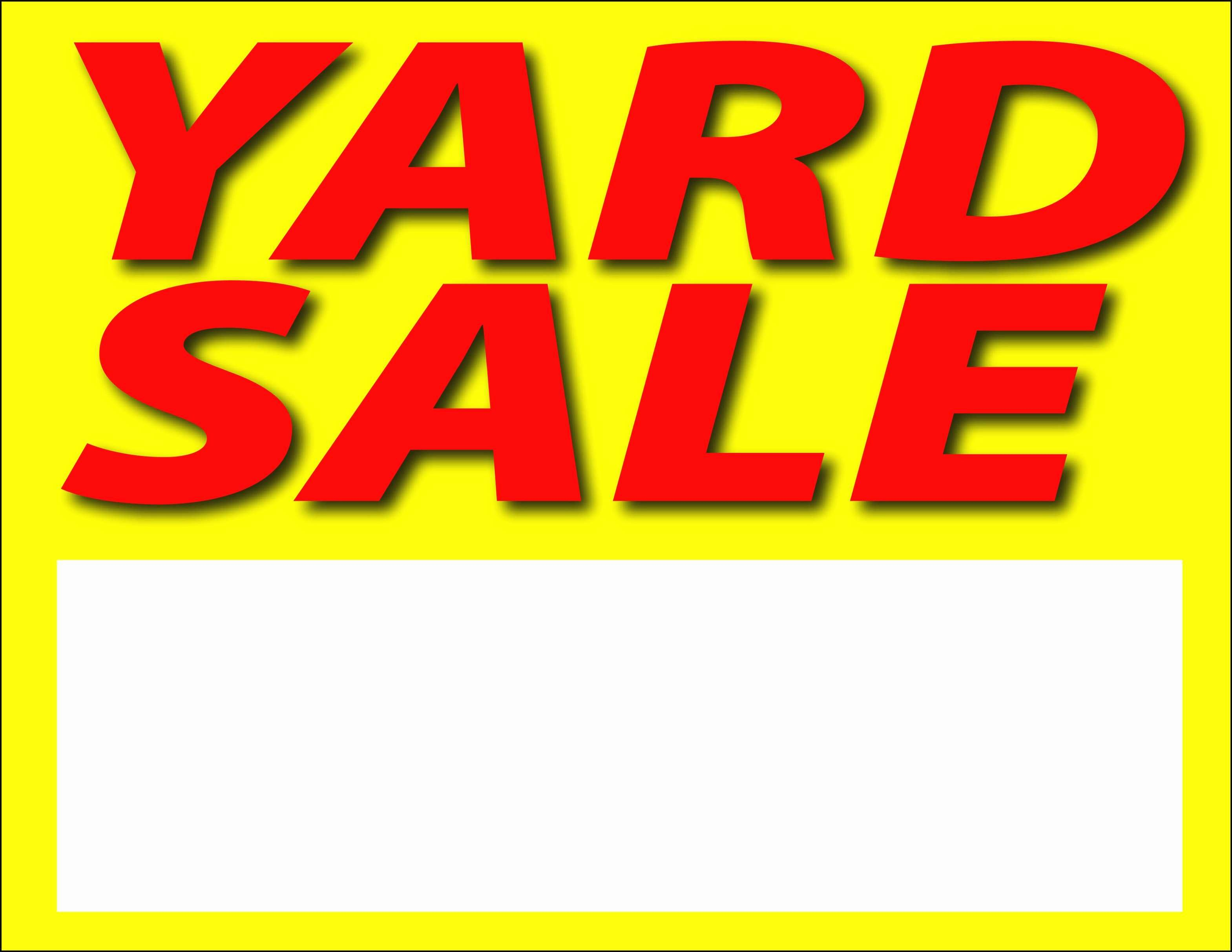 008 Yard Sale Signs Templates Sign Template Beautiful Examples - Free Printable Yard Sale Signs