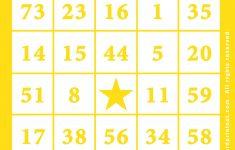 010 Bingo Card Template Free Printable ~ Ulyssesroom – Free Printable Bingo Cards For Teachers