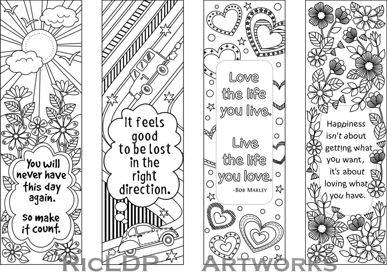 010 Template Ideas Free Printable Bookmark ~ Ulyssesroom - Free Printable Blank Bookmarks