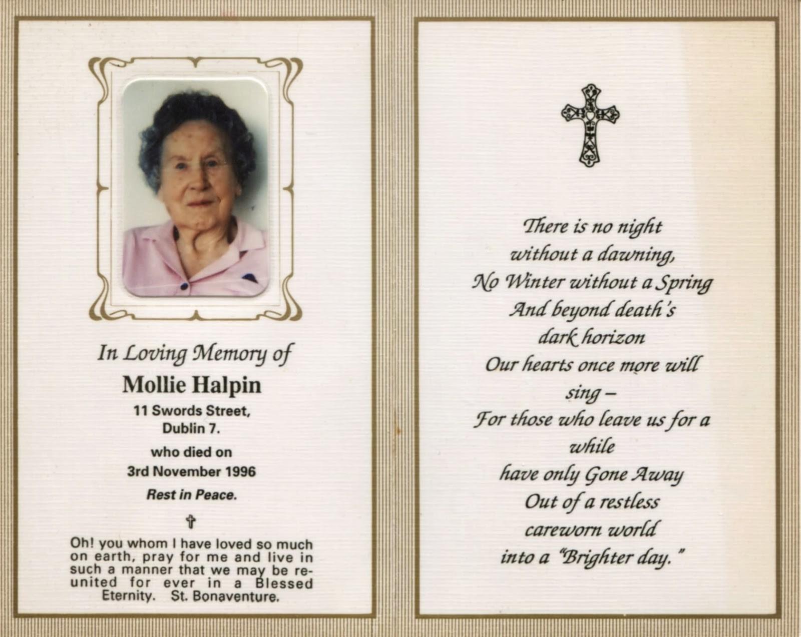 011 Free Printable Funeral Prayer Card Template Memorial Cards Of On - Free Printable Funeral Prayer Card Template