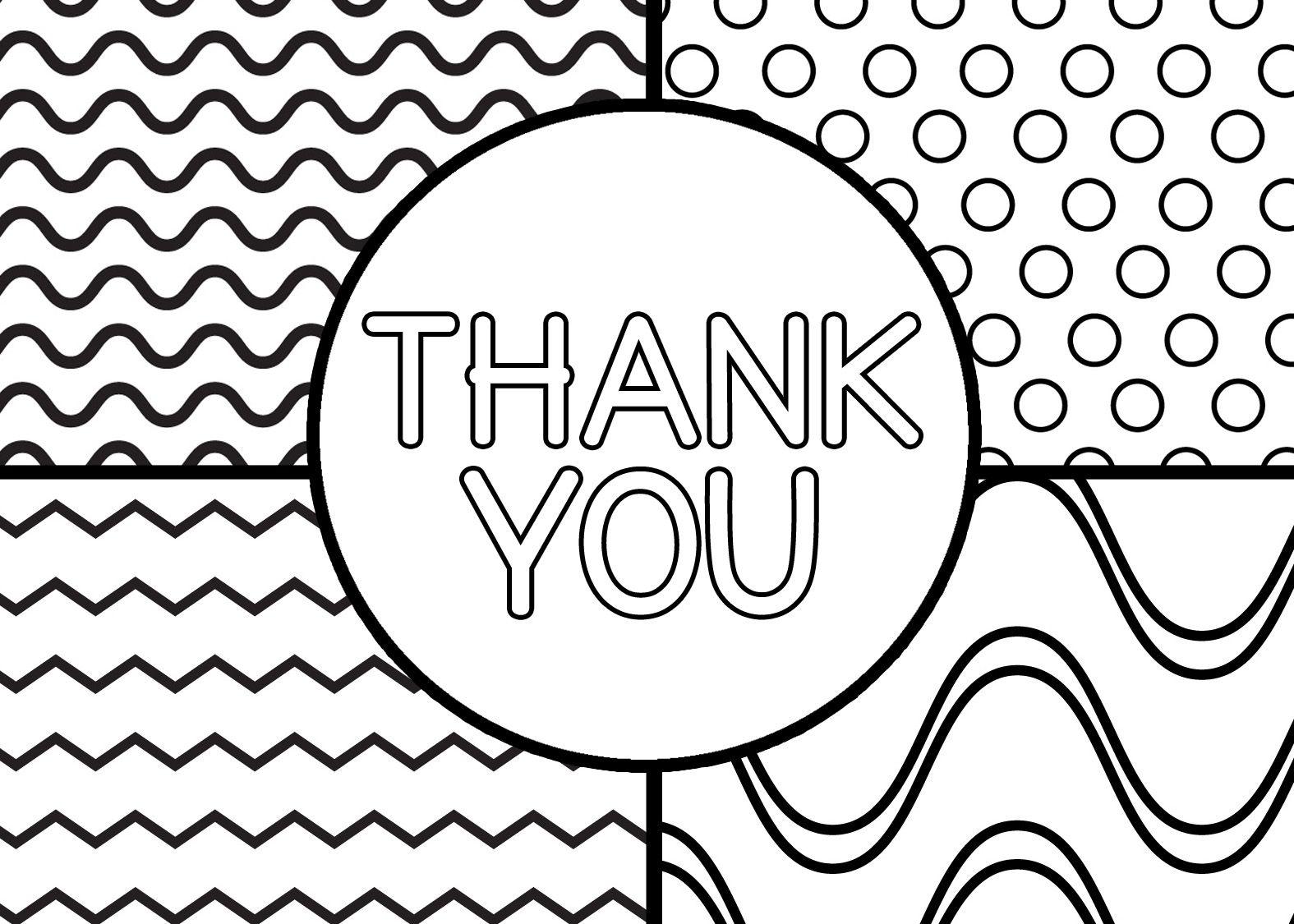 012 Printable Thank You Card Templates Template ~ Ulyssesroom - Free Printable Thank You Cards Black And White