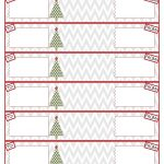 012 Template Ideas Address Label Templates Free Printable Christmas   Free Printable Return Address Labels