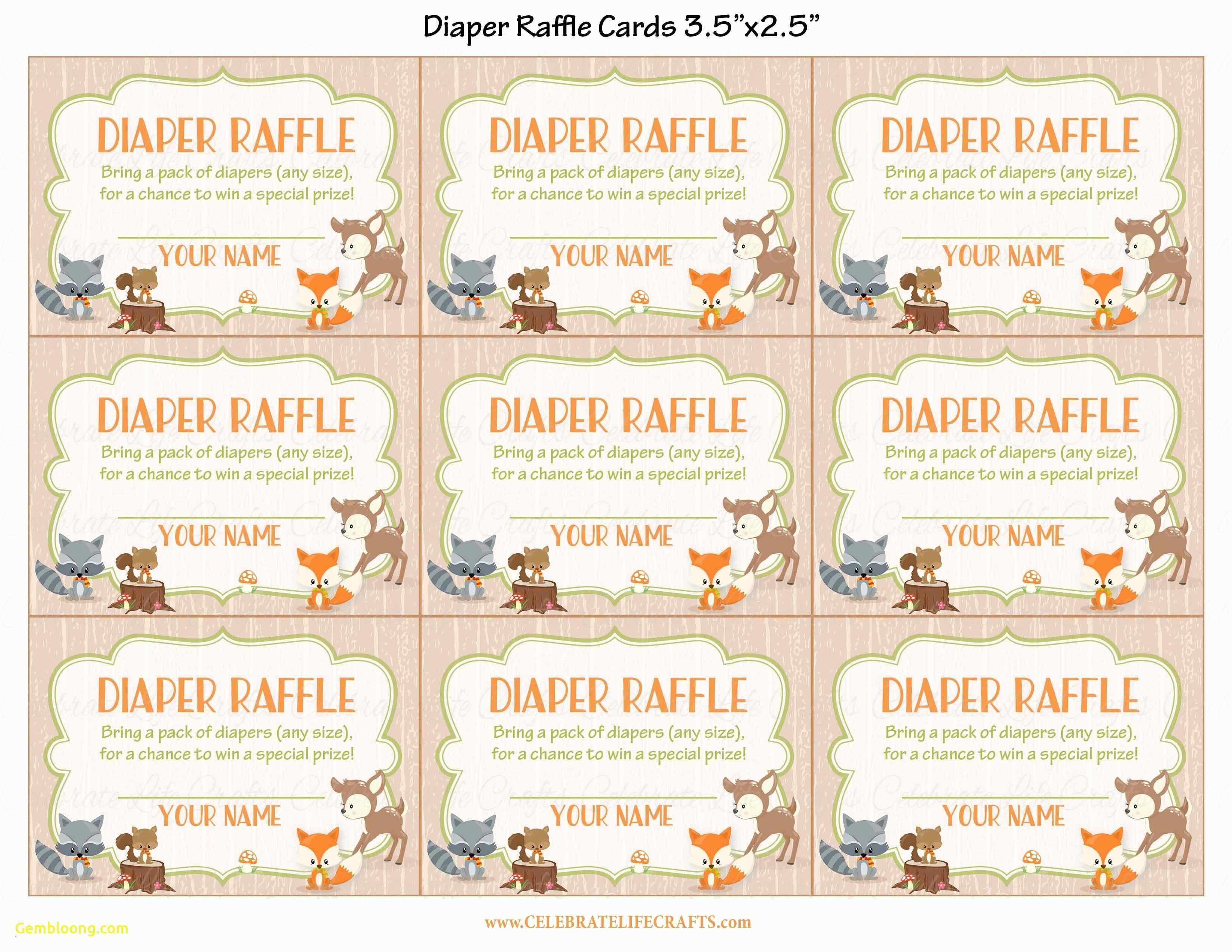 013 Diaper Raffle Tickets Template Elegant Luxury Baby Shower - Free Printable Baby Shower Diaper Raffle Tickets