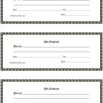 017 Template Ideas Free Christmas Gift Certificate Word List Coupon   Free Printable Gift Certificates