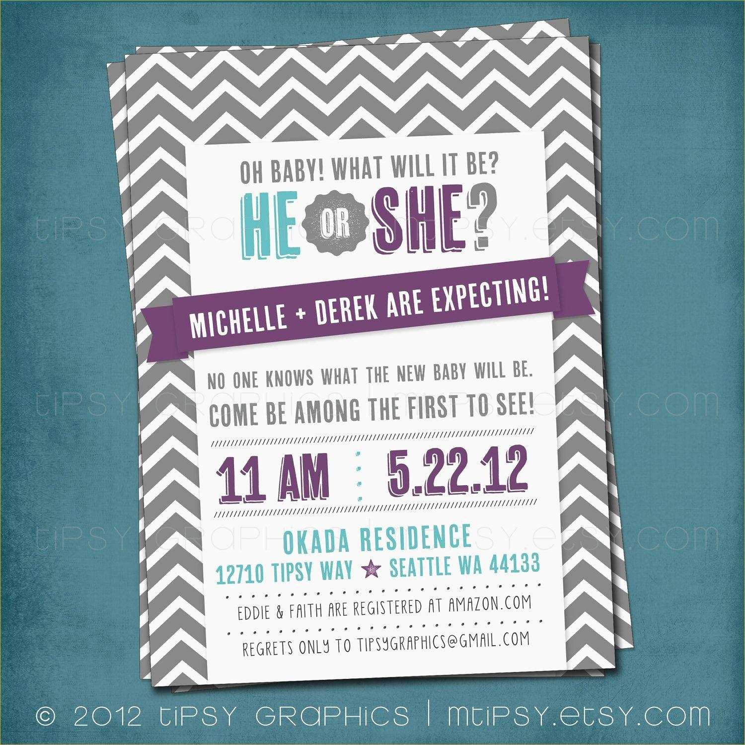 020 Free Gender Reveal Invitation Templates Template Ideas Printable - Free Printable Gender Reveal Invitations