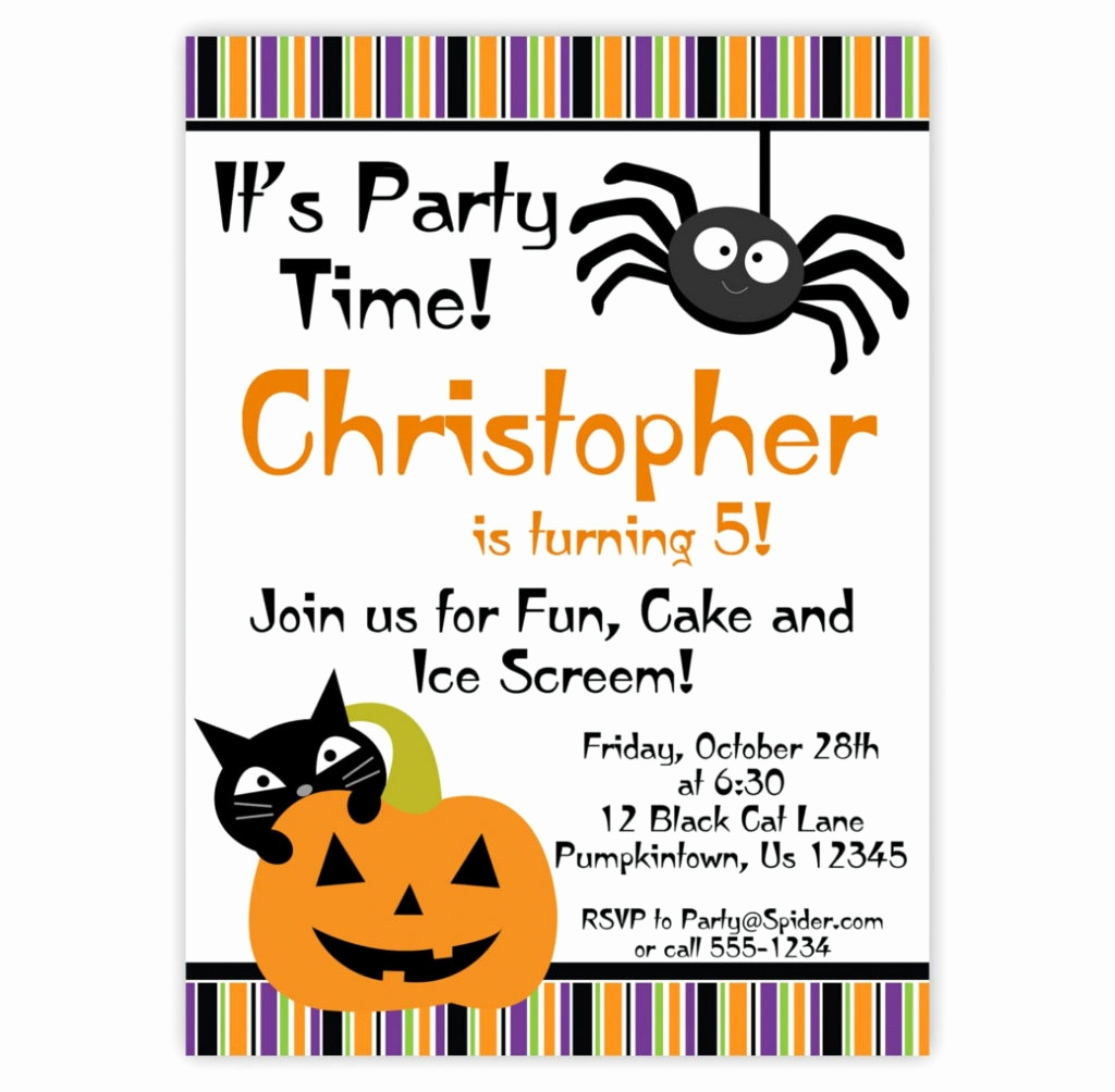 020 Free Halloween Invite Templates Template Ideas Birthday - Halloween Party Invitation Templates Free Printable