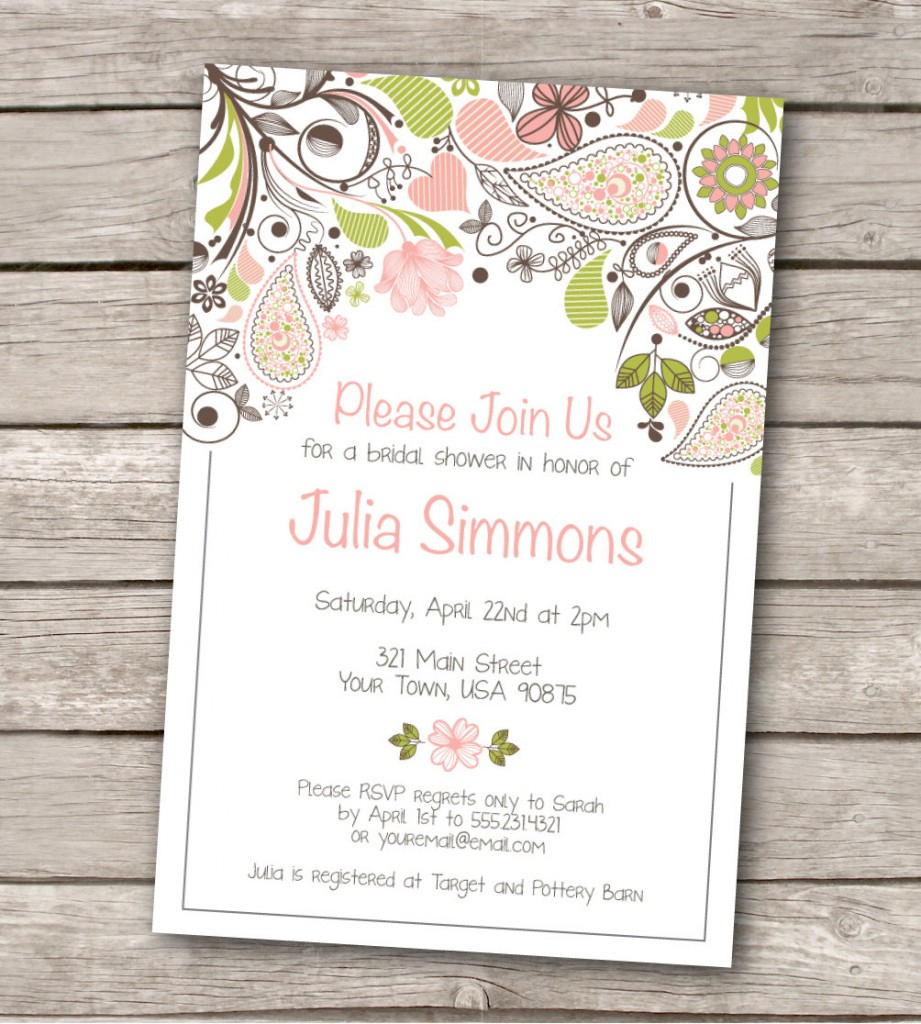 020 Ms Office Invitation Templates Template Ideas Free For Sample - Free Printable Wedding Invitation Templates For Microsoft Word