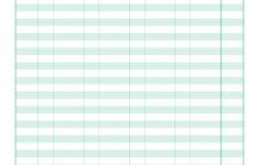 020 Spreadsheet Monthly Household Budget Worksheet Printable - Free Printable Monthly Household Budget Sheet