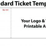 020 Template Ideas Free Printable Raffle Tickets Ticket For Word New   Free Printable Raffle Tickets With Stubs
