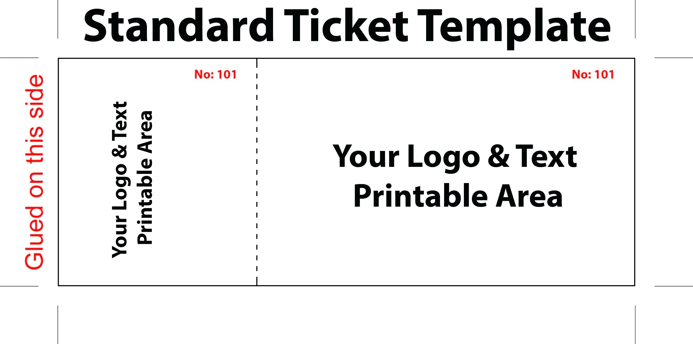 020 Template Ideas Free Printable Raffle Tickets Ticket For Word New - Free Printable Raffle Tickets With Stubs