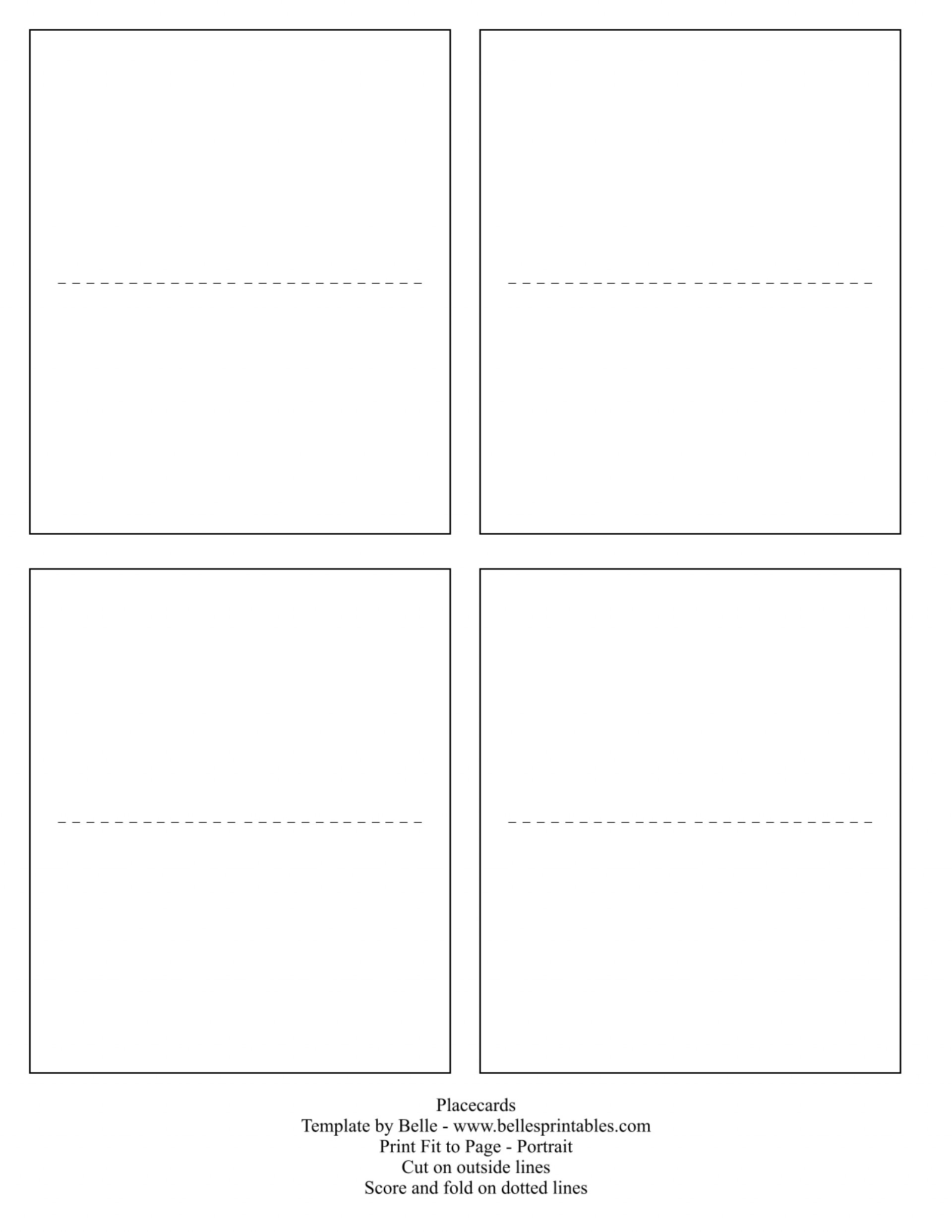 020 Template Ideas Table Name Card Seating Cards Place Example Free - Free Printable Place Cards Template