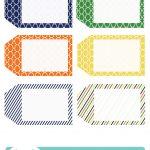 022 Printable Gift Tags Templates Birthday Tag Template ~ Ulyssesroom   Free Printable Gift Tags Templates