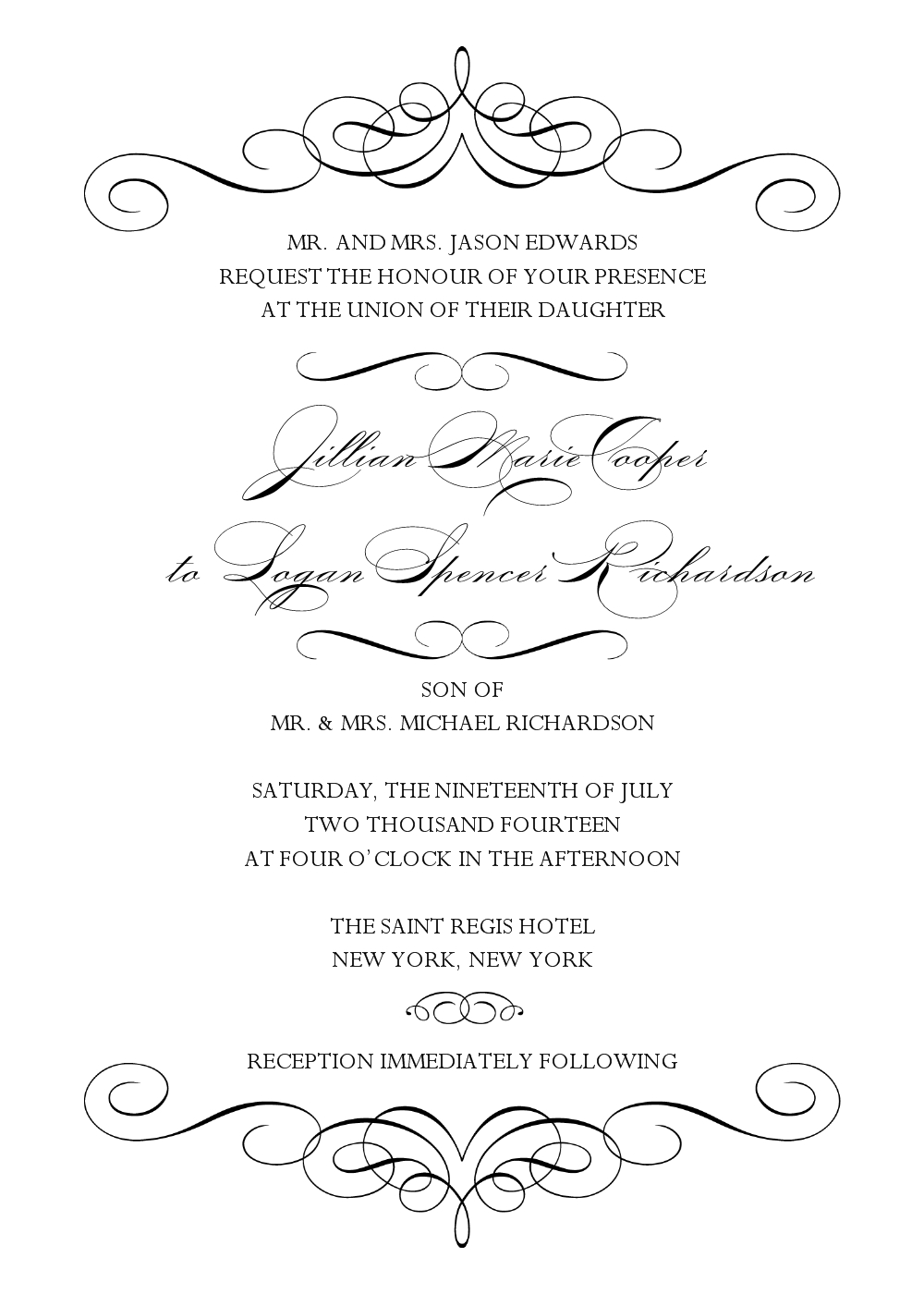 023 Template Ideas Ms Word Wedding Invitation Templates Free Blank - Free Printable Wedding Invitation Templates For Microsoft Word