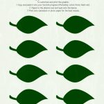 027 Free Printable Leaf Template Green Leaves ~ Ulyssesroom   Free Printable Leaf Template