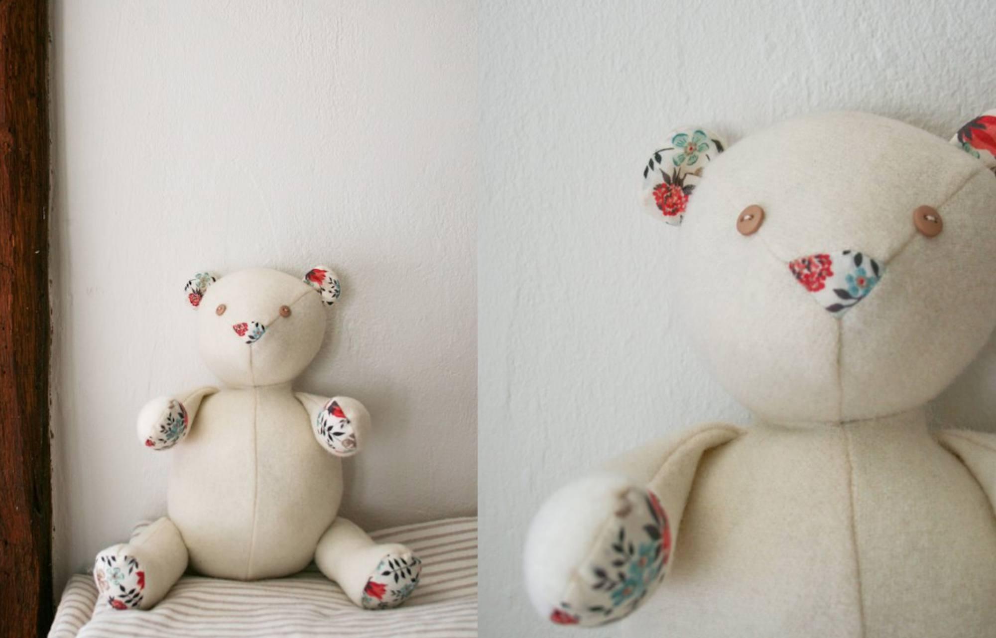 10 Adorable Teddy Bear Sewing Patterns - Free Teddy Bear Patterns Printable