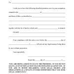 10 Best Images Of Eviction Notice Florida Form Blank Template Via 3   Free Printable Eviction Notice Ohio