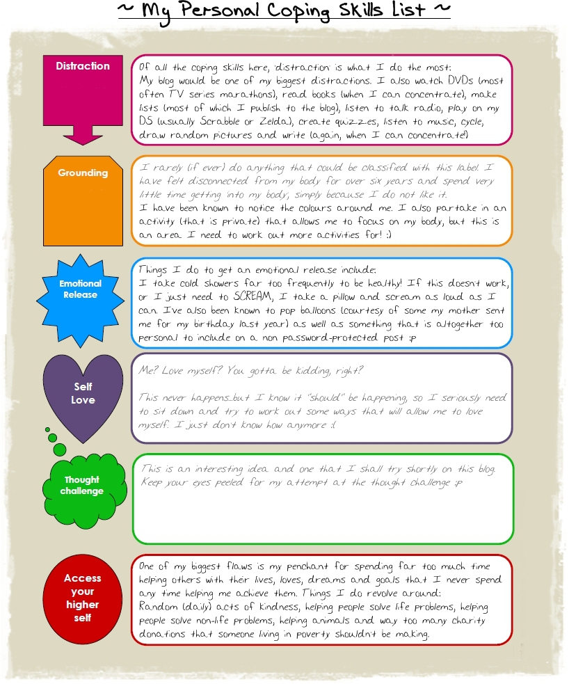 10+ Coping Skills Worksheets For Adults And Youth (+ Pdfs) - Free Printable Coping Skills Worksheets