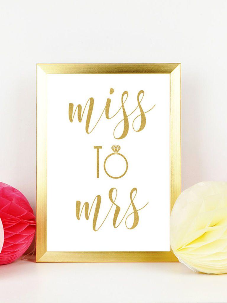 10 Easy (And Fun!) Bachelorette Printables | Wedding Fun | Pinterest - Free Printable Bachelorette Signs