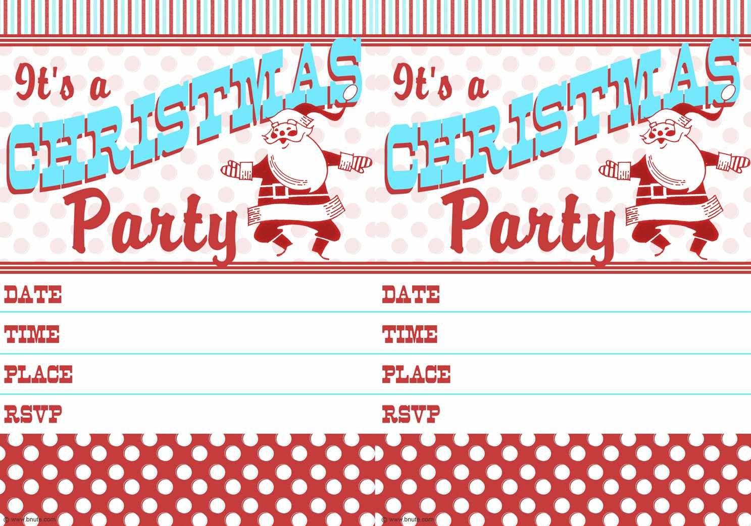 10 Free Christmas Party Invitations That You Can Print - Play Date Invitations Free Printable