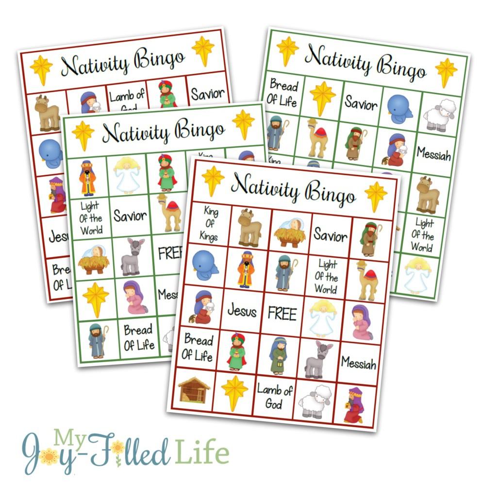 10 Free, Last Minute Printable Stocking Stuffer Games - Printables 4 Mom - Free Printable Religious Easter Bingo Cards