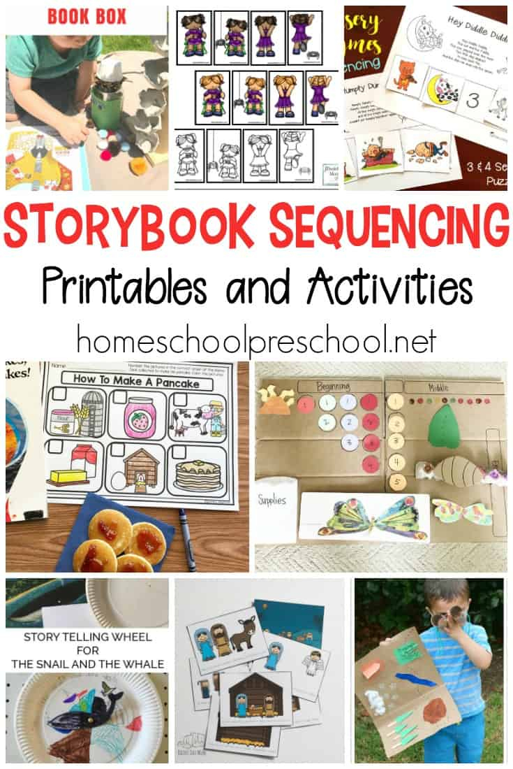 10 Story Sequencing Cards Printable Activities For Preschoolers - Free Printable Sequencing Cards For Preschool