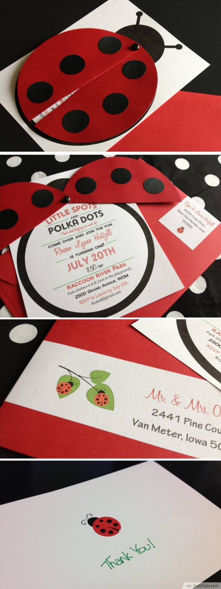 10 Unique Ladybug Baby Shower Invitations Your Guests Will Remember - Free Printable Ladybug Invitations
