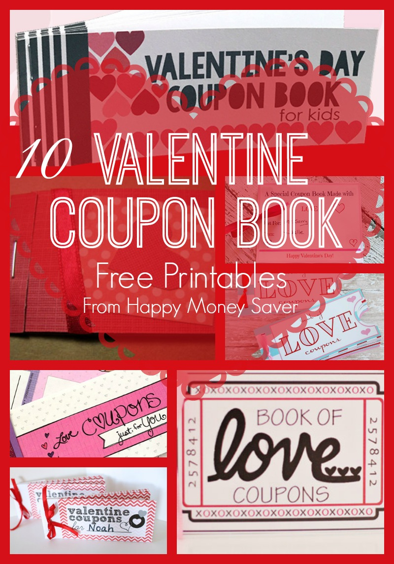 10 Valentines Day Coupon Book Free Printables! - Free Printable Valentine Books