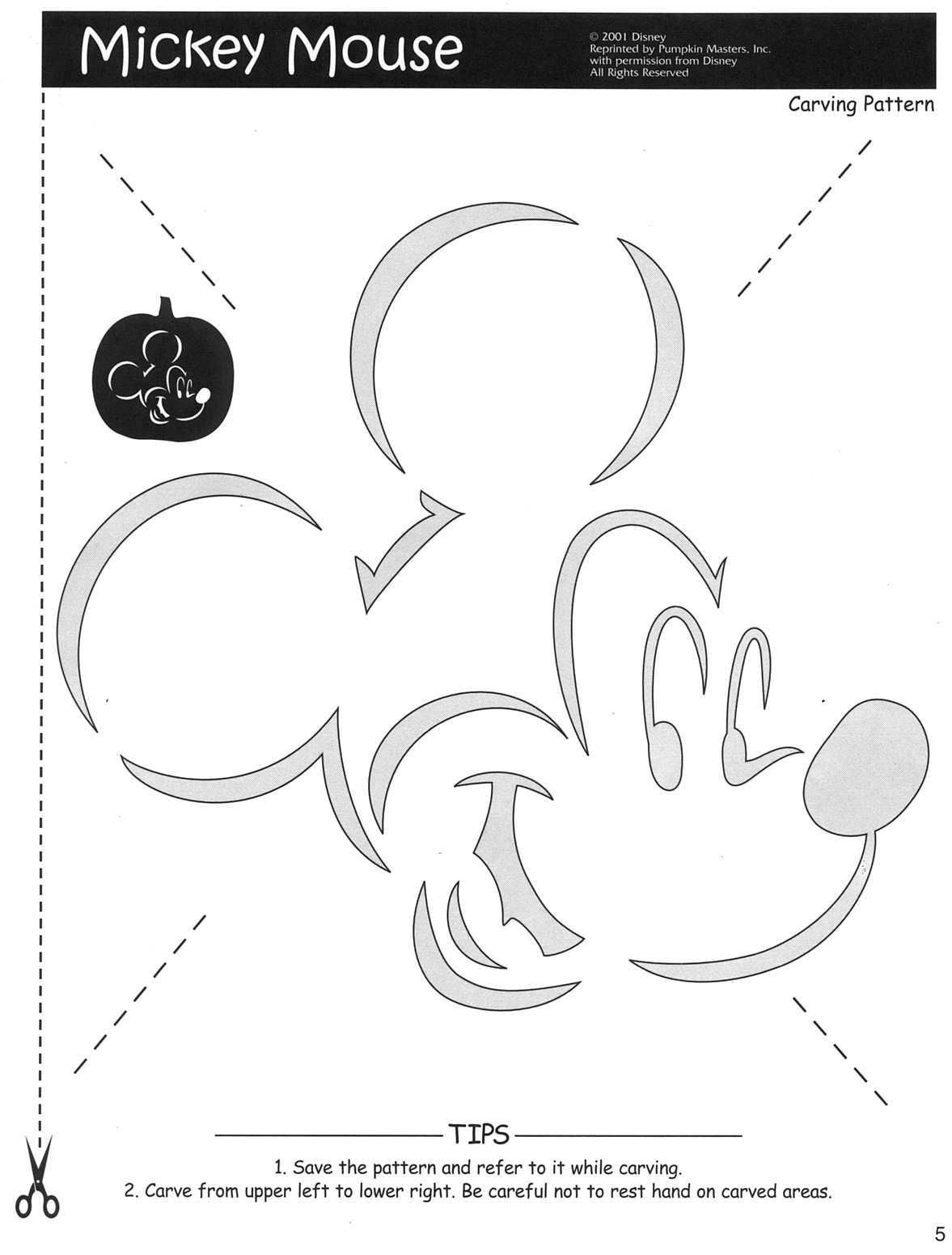 100+ Free Disney Halloween Pumpkin Carving Stencil Templates W - Free Pumpkin Carving Patterns Disney Printable