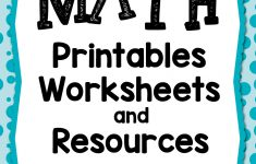 100 Math Printables And Resources – Mamas Learning Corner – Free Printable Math Mystery Picture Worksheets