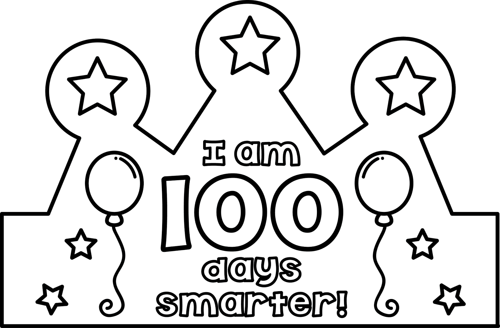 100Th Day Of School Printable Glasses Free – Jowo - 100Th Day Of School Printable Glasses Free