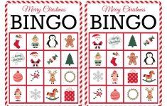 11 Free, Printable Christmas Bingo Games For The Family - Free Printable Personalized Christmas Invitations