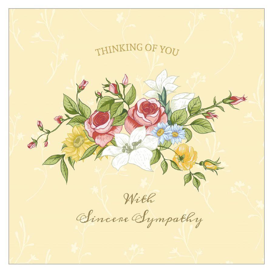 11 Free, Printable Condolence And Sympathy Cards - Free Printable Sympathy Card For Loss Of Pet