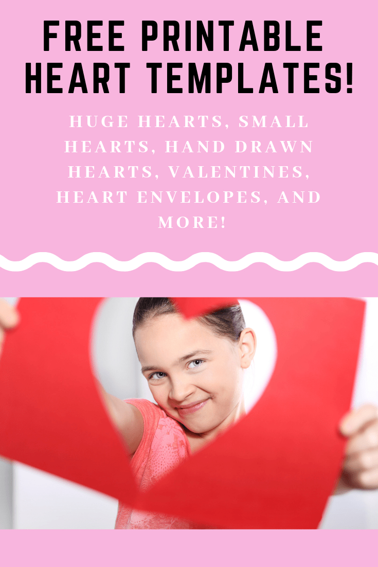 12+ Heart Template Printables - Free Heart Stencils And Patterns - Free Printable Valentine Heart Patterns