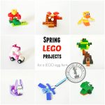 12 Spring Lego Projects For Easter Egg Hunt Or Basket | Adventure In   Free Printable Lego Instructions