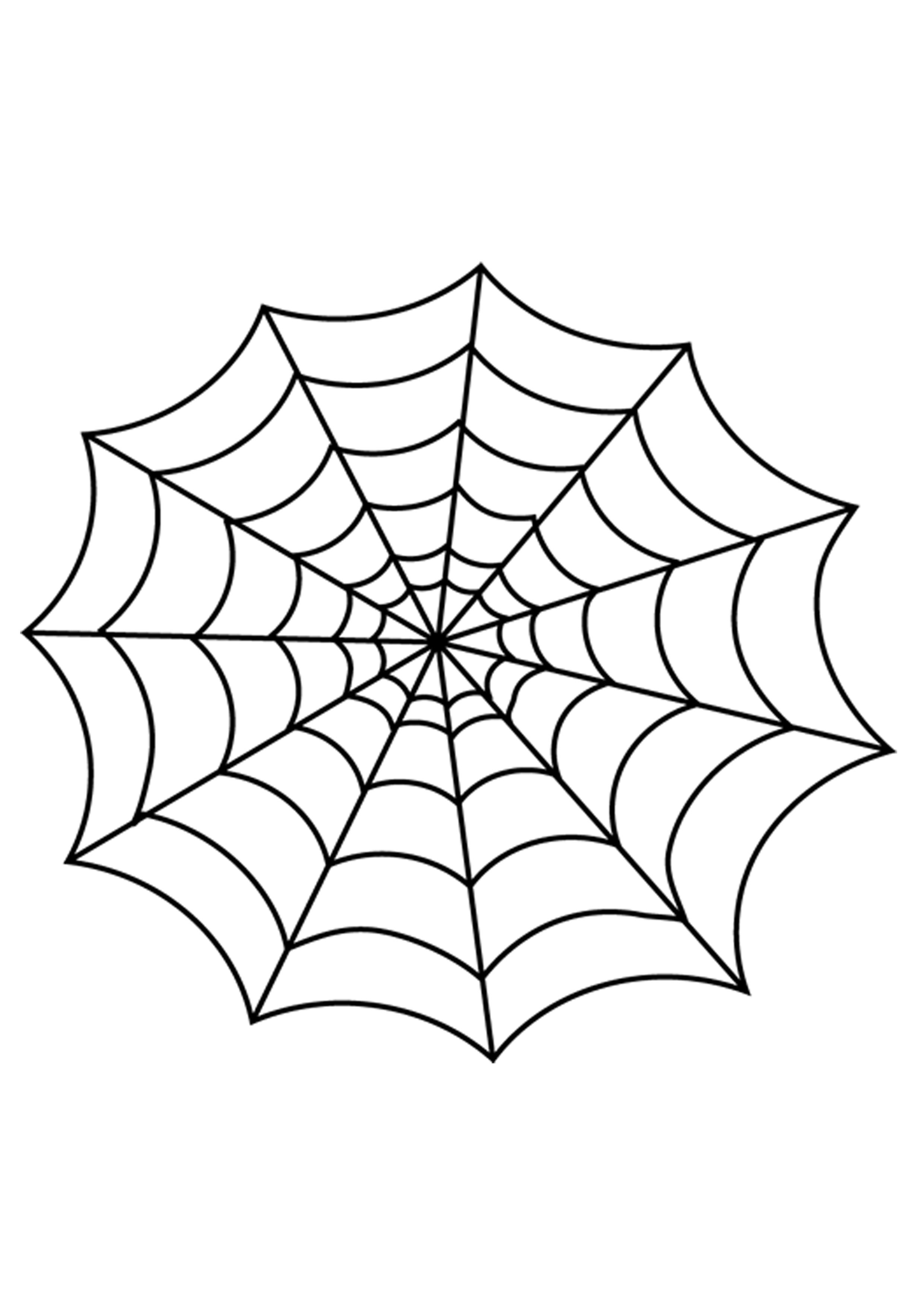 14 Decoration Drawing Halloween For Free Download On Ayoqq - Spider Web Stencil Free Printable