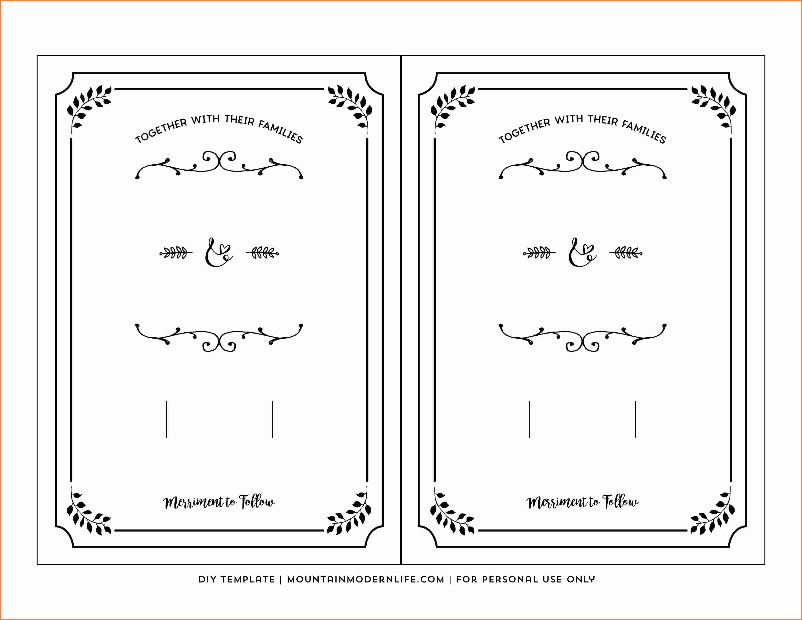 15+ Free Printable Invitation Templates | Restaurant Receipt - Free Printable Invitations Templates